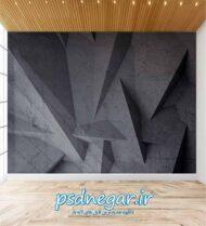 طرح کاغذ دیواری سه بعدی شماره ۱۶۰
