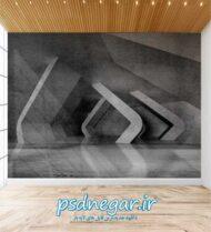 طرح کاغذ دیواری سه بعدی شماره ۱۶۱
