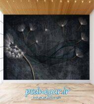 طرح کاغذ دیواری سه بعدی شماره ۱۶۹